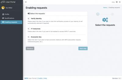 Enabling requests