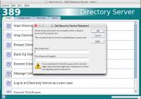 Set Security Device Password